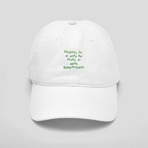 Pardonu/Excuse me Shirt Cap