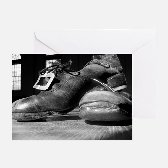 Hard Shoes Greeting Card