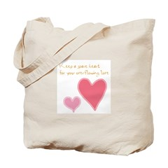 Keep a Spare Heart Tote Bag