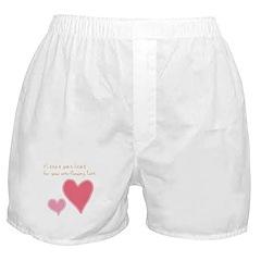 Keep a Spare Heart Boxer Shorts