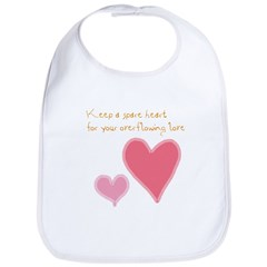 Keep a Spare Heart Bib