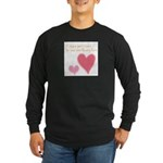 Keep a Spare Heart Long Sleeve Dark T-Shirt