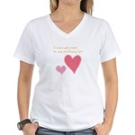 Keep a Spare Heart Women's V-Neck T-Shirt