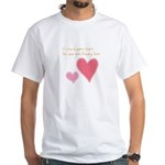 Keep a Spare Heart White T-Shirt