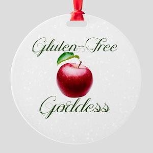 Gluten-Free Goddess Round Ornament