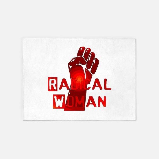 Radical Woman 5'x7'Area Rug