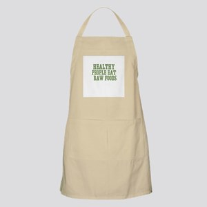 Healthy People Eat  Raw Foods BBQ Apron