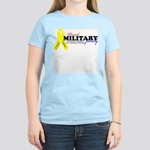Always United: USMC/USAF (Ver Women's Light T-Shir
