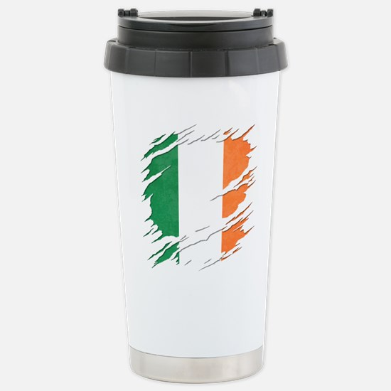 Ripped Reveal of Travel Mug