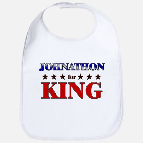 JOHNATHON for king Bib
