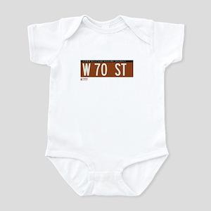 70th Street in NY Infant Bodysuit