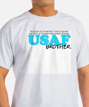My Duty: USAF Brother T-Shirt
