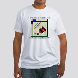Monopolo/monopoly Fitted T-Shirt