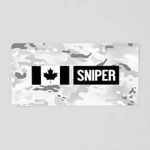 Canadian Military: Sniper ( Aluminum License Plate
