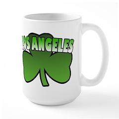 Los Angeles Shamrock Large Mug