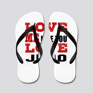 Love Me Like You Love Judo Flip Flops