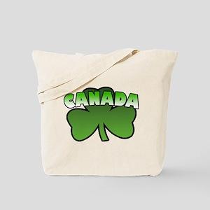 Canada Shamrock Tote Bag