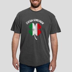 Italian Leprechaun Mens Comfort Colors Shirt