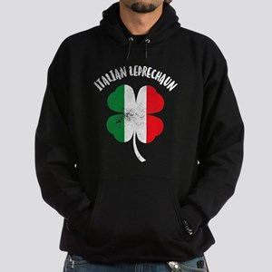 Italian Leprechaun Hoodie (dark)