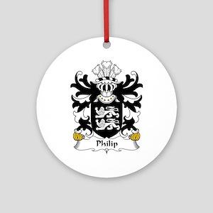 Philip (AB IFOR) Ornament (Round)