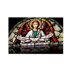 Angel Stained Glass (reflecti Rectangle Magnet (10