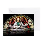 Angel Stained Glass Greeting Cards (10)