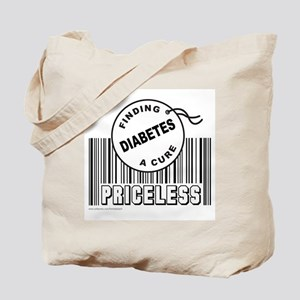 DIABETES FINDING A CURE Tote Bag