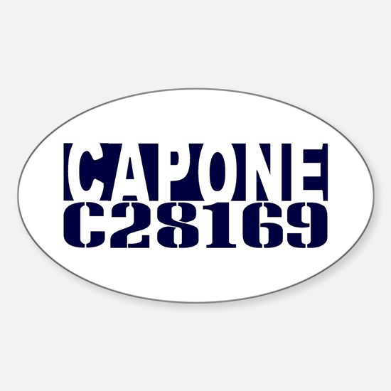CAPONE C28169 Sticker (Oval)