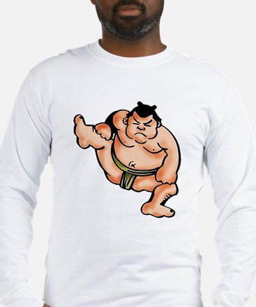 Sumo Wrestler Long Sleeve T-Shirt