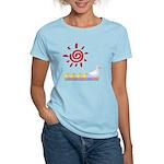 Duck Family Walk Women's Light T-Shirt