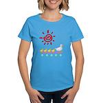 Duck Family Walk Women's Dark T-Shirt