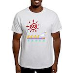 Duck Family Walk Light T-Shirt