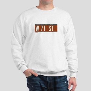 71st Street in NY Sweatshirt