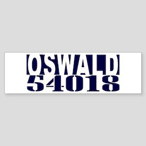 OSWALD 54018 Sticker (Bumper)