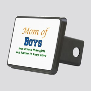 Mom of Boys Hitch Cover