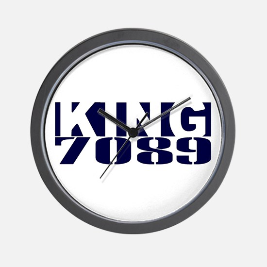 KING 7089 Wall Clock