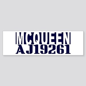 McQUEEN AJ19261 Sticker (Bumper)