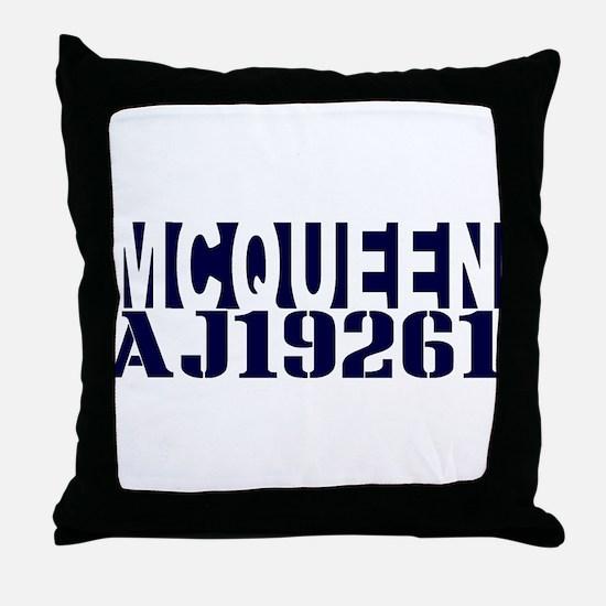 McQUEEN AJ19261 Throw Pillow
