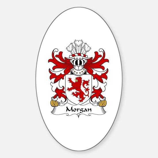 Morgan (Sir, AP MAREDUDD) Oval Decal