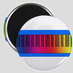 Rainbow Piano Keys Magnet