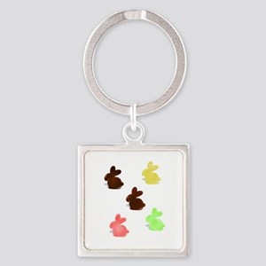 Candy Easter Bunnies Keychains