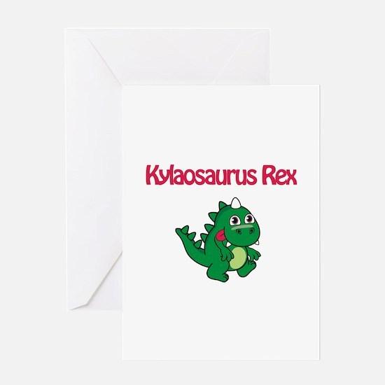 Kylaosaurus Rex Greeting Card