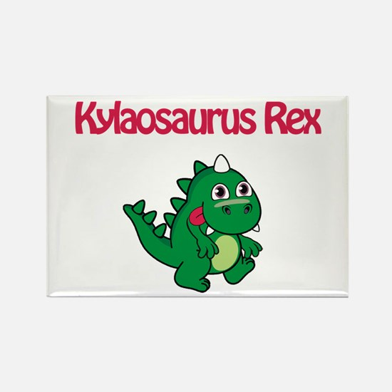 Kylaosaurus Rex Rectangle Magnet