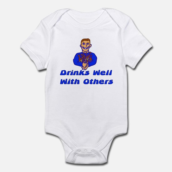 Drinks Well With Others Infant Bodysuit