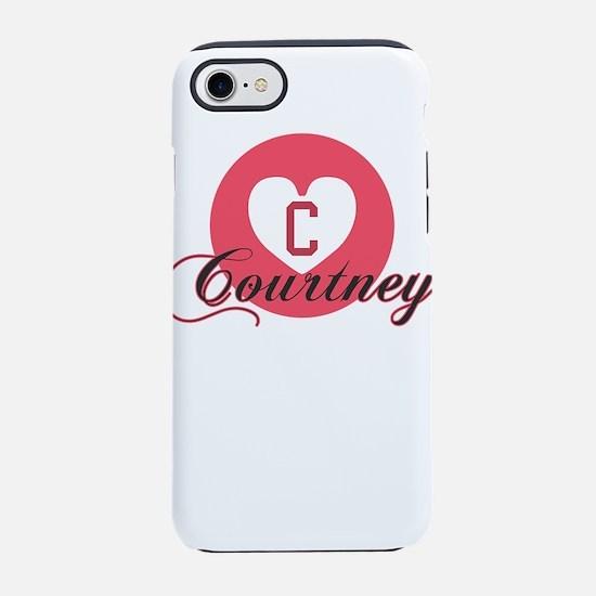 courtney iPhone 8/7 Tough Case