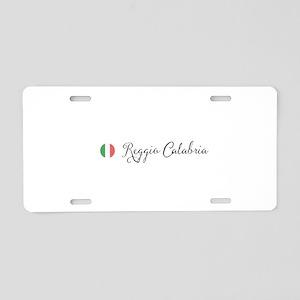 Reggio Calabria Aluminum License Plate