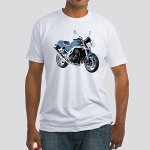Triumph Speed Triple Blue #2 Fitted T-Shirt