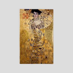 Klimt, Adel Bloch Bauer's Portrait Area Rug