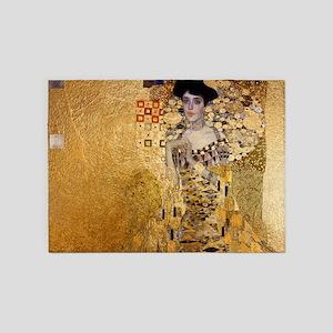 Klimt, Adel Bloch Bauer's Portrait 5'x7'Area Rug