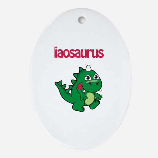 Nadiaosaurus Rex Oval Ornament